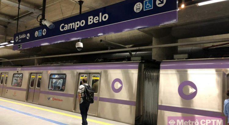 Estação Campo Belo - Nova Estação Metrô CPTM