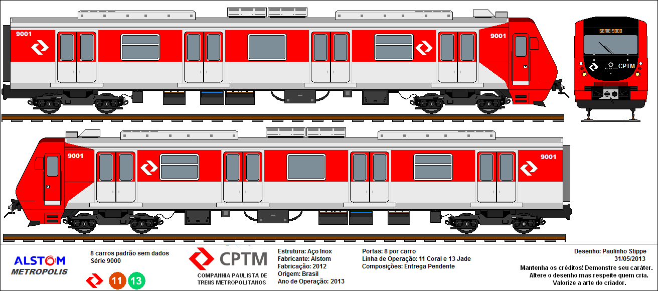 CPTM - TRENS METROPOLITANOS