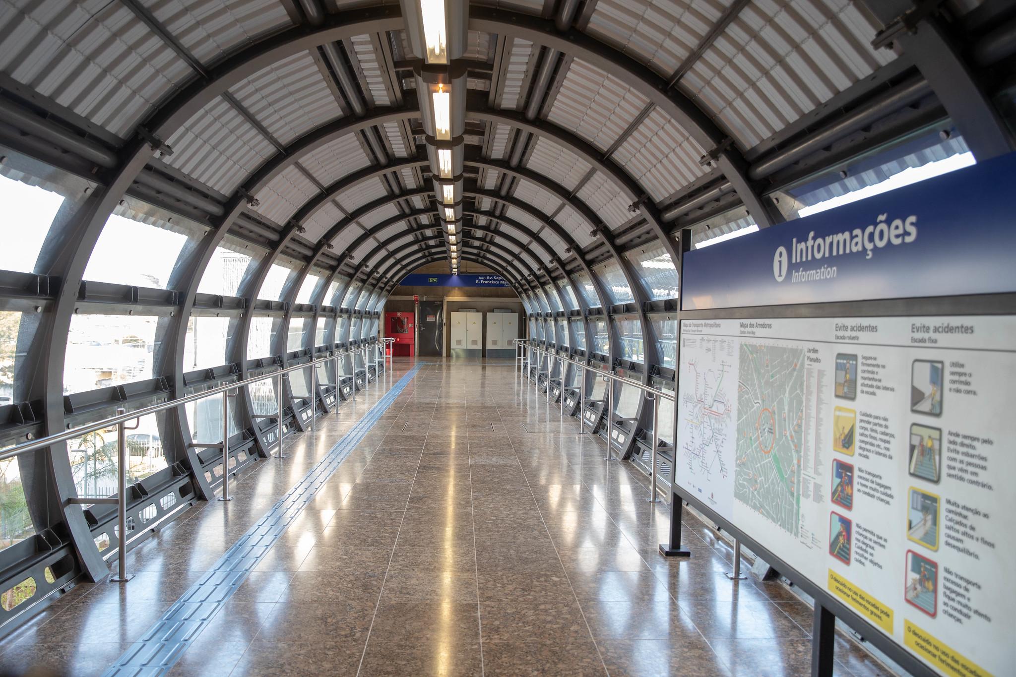 Nova estação Metrô SP