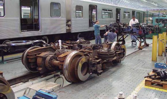 Metro SP em Manutenção