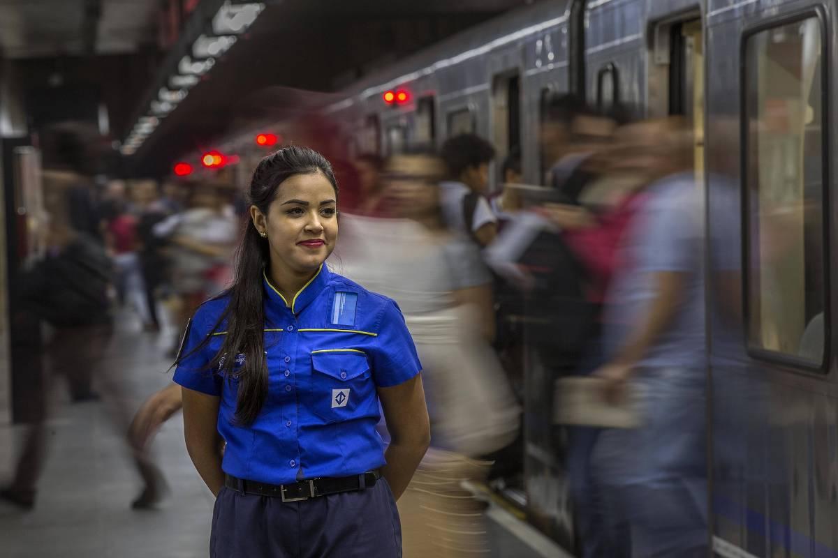 Dia da Mulher - Metrô SP