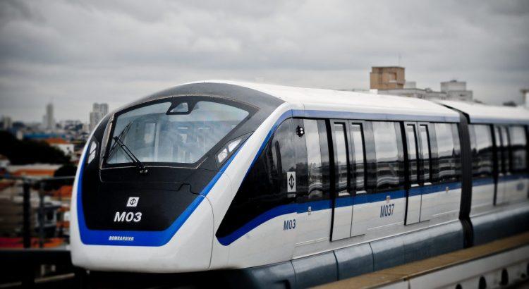 Monotrilho Parado - Metro SP