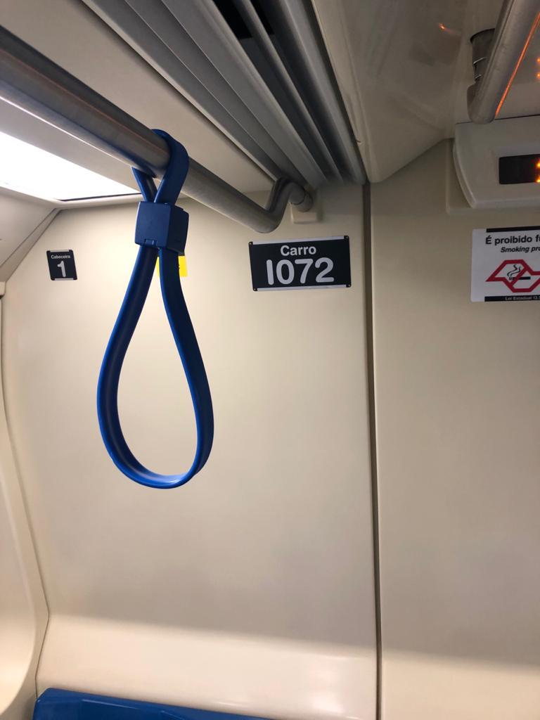 Mais segurança e conforto - Metro SP